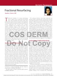 Fractional Resurfacing