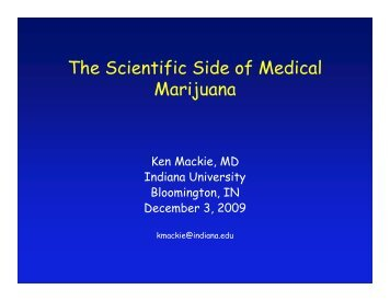 The Scientific Side of Medical Marijuana