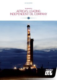 Year in Review PDF - Tullow Oil plc