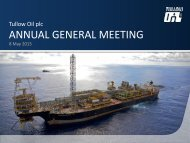 Tullow Oil AGM Presentation 080513 - The Group