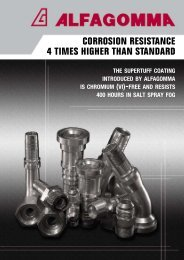 Corrosion resistance of new AG supertuff coating - Alfagomma
