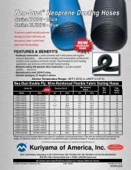 Neo-Duct ® Neoprene Ducting Hoses - Kuriyama of America