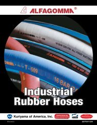 Industrial Rubber Hoses - Kuriyama of America, Inc.