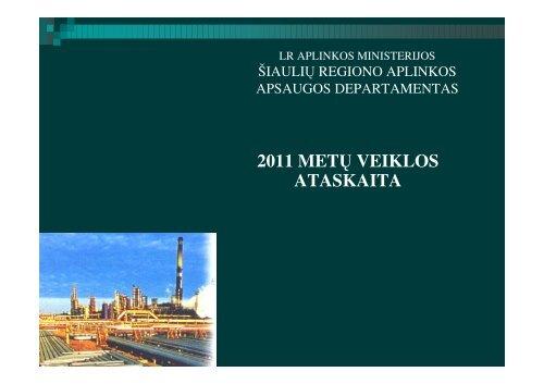 2011 m. veiklos ataskaita - RAAD