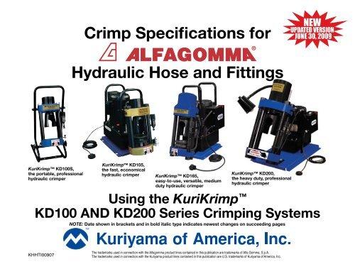 Hydraulic Hose and Fittings - Kuriyama of America