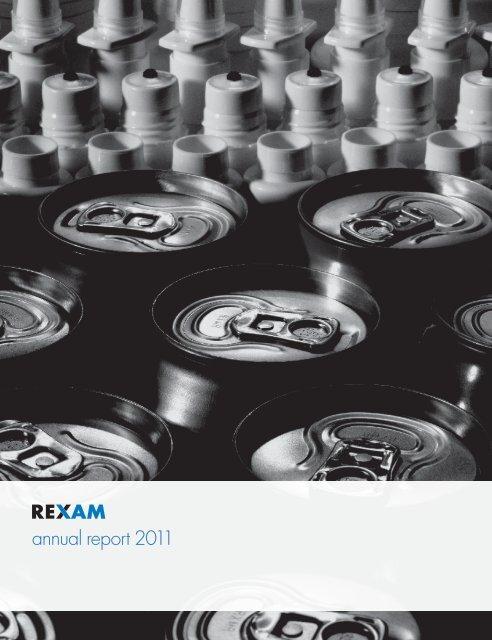 Rexam PLC Annual Report 2011