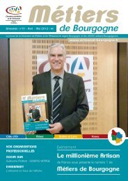 N°1 - Avril 2012 - Chambre de métiers