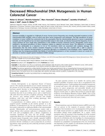 Colon_Cancer_Mito-Glycolysis - Medicinal Genomics