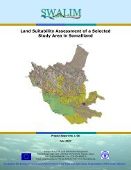 Land Suitability Assessment of a Selected Study Area in ... - swalim