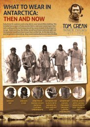 WHAT TO WEAR IN ANTARCTICA: THEN AND NOW