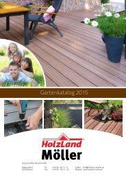HolzLand Möller Gartenkatalog 2015