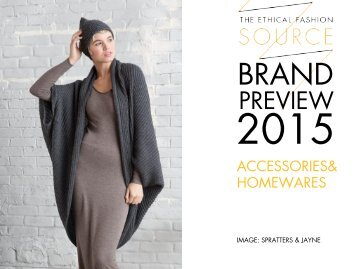 Brand Preview 2015 Accessories & Home