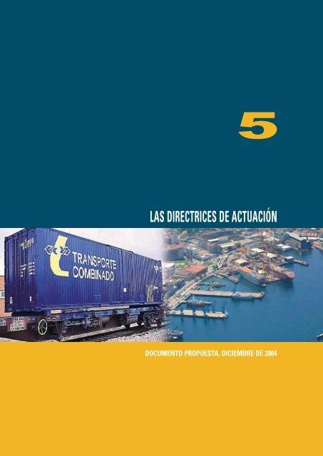 las directrices de actuación - Plan Estratégico de Infraestructuras y ...