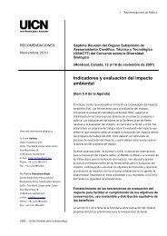 Indicadores y evaluación del impacto ambiental - Miliarium