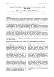 process analysis in cut-off grinding of stone compound ... - aidico