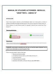 """manual de utilizare actionweb - modulul """"grup tinta – anexa ... - Centre"""