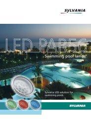 PAR56 12V lEd - Sylvania Lamps