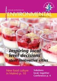 Baltic Cities Environmental bulletin 1/2011 - BaltCICA