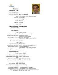 Full CV (PDF) - Centre