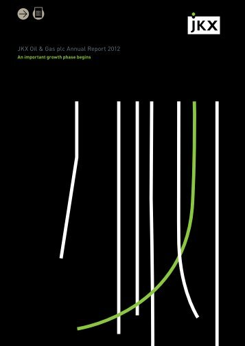 JKX Oil & Gas plc Annual Report 2012