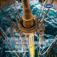 Download our Candidate Brochure PDF 2.37 MB - Cairn Energy PLC