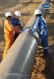 2008 Annual report PDF 5.74MB - Cairn Energy PLC