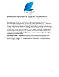 DRAFT Steering Committee Resolution SC03-2013 – Procedures ...