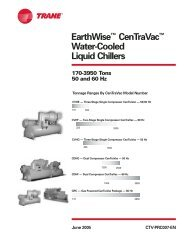 EarthWise™ CenTraVac™ Water-Cooled Liquid Chillers - Building ...