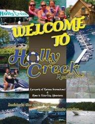 Holly Creek Resort Lodging Guide - Waterway Adventures