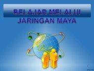 kelompok belajar melalui jaringan maya di indonesia