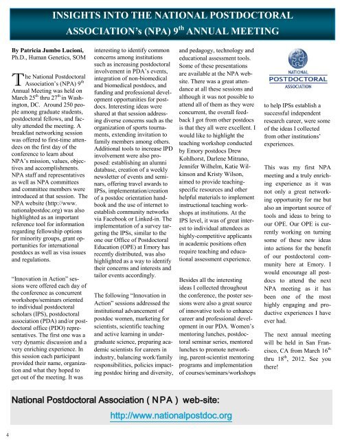 Vol 4 Issue 2 - Emory University School of Medicine