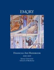 Financial Aid Information - School of Medicine - Emory University