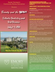 View Program Brochure - Emory University School of Medicine