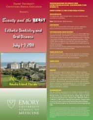 View Program Brochure - Emory University School of Medicine