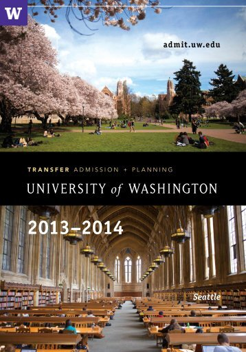 Transfer Admission & Planning (TAP) 2013-14 - Undergraduate ...