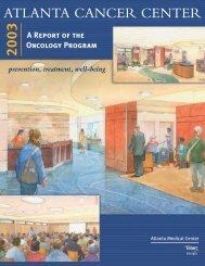 ATLANTA CANCER CENTER 2003 - Atlanta Medical Center