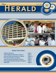 2013 Edition of the Herald - Atlanta Medical Center