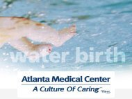 access to the online class information. - Atlanta Medical Center