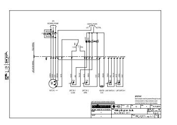 STP-CB 3/5 3 Phase Motor Control Panel Wiring Diagram