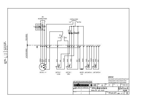 Wiring Diagram 3 Phase Motor El 55 Emerson Process