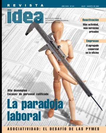 La paradoja laboral - Diseño Gráfico Ribeiro