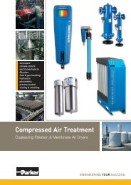 Compressed Air Treatment - Parker