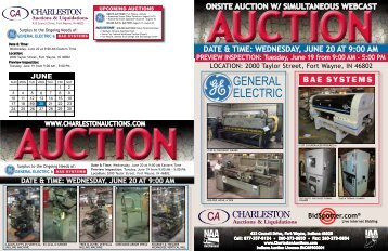 GENERAL ELECTRIC - Charleston Auctions