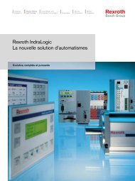 Rexroth IndraLogic La nouvelle solution d ... - Bosch Rexroth