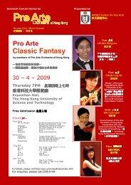 Pro Arte Classic Fantasy