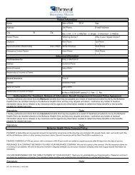 Download Outpatient Admissions Forms - Portneuf Medical Center