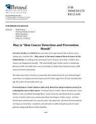 Skin Cancer Detection and Prevention Month - Portneuf Medical ...