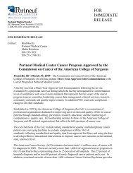 03-30-2009 Portneuf Medical Center Cancer Program Approved by ...