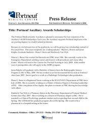 11-06-2008 PMC Auxiliary Awards Scholarships - Portneuf Medical ...