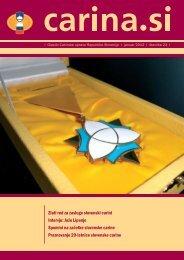 Åtevilka 23, januar 2012 - Carinska uprava Republike Slovenije